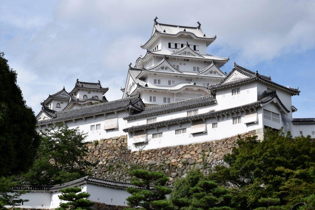 himeji castle Stone wall