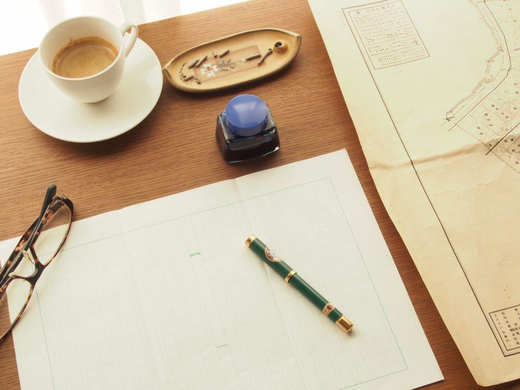 少しでも美しい字を 一生添い遂げるあなただけの道具。万年筆を始めてみませんか?