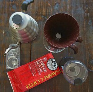 毎日ドリップコーヒーを淹れて、仲間と楽しく飲んでいます【第1回ユルドリップ】!
